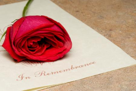 A memorial service allows those who may have missed the funeral service an opportunity to pay their last respects.